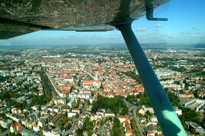 Impression eines Rundflugs über Ostwestfalen-Lippe